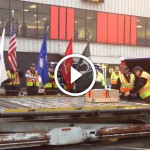 A soldier and his dog were killed. Watch what baggage handlers do with their caskets.